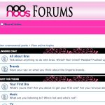 The Forum is open