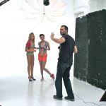 Behind the scenes @ Noo Noos Photoshoot